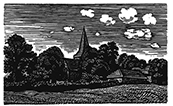 The Engraver's Cut (Diana Bloomfield): Rodmell Church