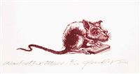 The Engraver's Cut (Raymond Gloeckler): Woodcutter Mouse