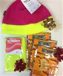 Heated Wristies, 3 pack HotHands and ML Fleece Hat