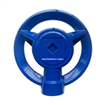 004090 QVS Pro Series Blue POP's Metal Square Pattern Sprinkler
