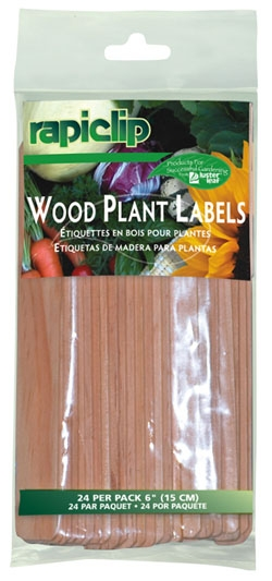812 - Wood Plant Labels 6""