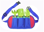 Kids Garden Apron and Tool Set