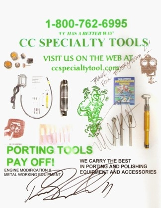 CC Specialty Tools Guide to 2 stroke porting