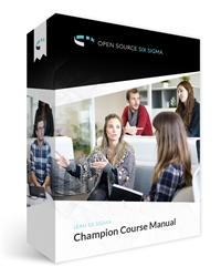 Lean Six Sigma Champion Course Manual