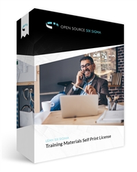 Training Materials Self Print License