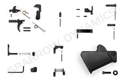 Featureless Lower Parts Kit Plus for AR-15