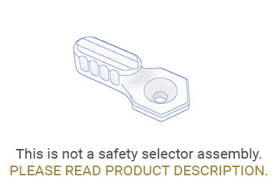 SAFETY SELECTOR LEVER LONG