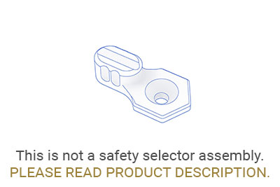 SAFETY SELECTOR LEVER SHORT