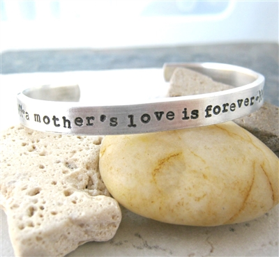 A Mother's Love is Forever, Personalize this