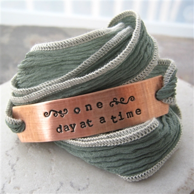 One Day At A Time Wrap Bracelet