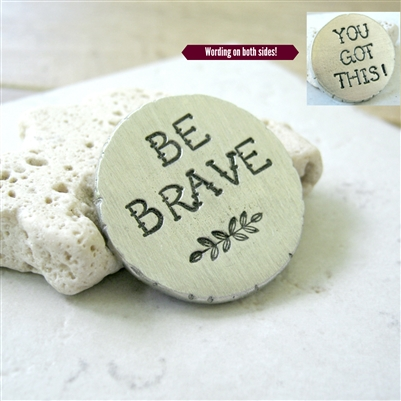 Be Brave Pocket Coin