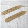 To Keep You Stiff When We're Apart Collar Stays