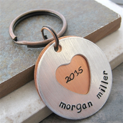 Personalized Graduation Key Chain, Class of 2020