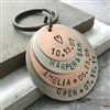Personalized Key Chain, 4 Layers