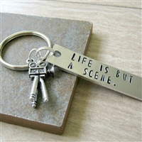 Moviemaker Key Chain, Life is But a Scene
