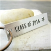Class of 2015 Key Chain, personalized