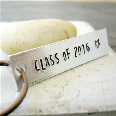 Class of 2020 Key Chain, personalized