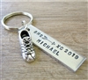 Personalized Cross Country Key Chain