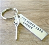 Personalized Lacrosse Key Chain, Choose your sport
