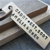 Personalized Dad's Key Chain