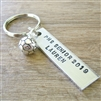 Personalized Soccer Key Chains