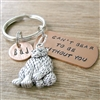 Can't Bear To Be Without You Keychain