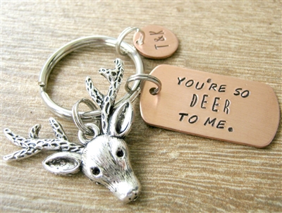 You're So Deer to Me Keychain