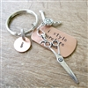 Stylist Keychain, I Style Therefore I Am