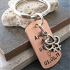 Personalized Lesbian Couple Key Chain