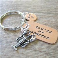 You're My Lobster Key Chain