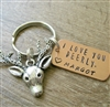 I Love You Deerly Keychain, Deer charm