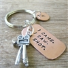 Movie Camera Key Chain, I Came. I Saw. I Shot