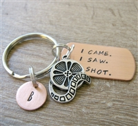 Film Reel Camera Key Chain, I Came. I Saw. I Shot