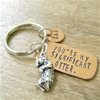 You're My Significant Otter Keychain