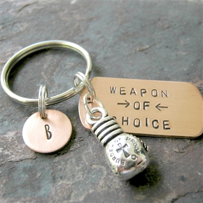 Boxing Weapon of Choice Keychain