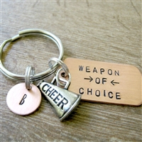 Cheerleading Key Chain, Weapon of Choice