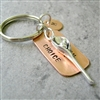 Lacrosse Weapon of Choice Keychain