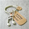 Music Note Keychain, Weapon of Choice
