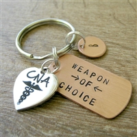 CNA Nursing Key Chain, Weapon of Choice