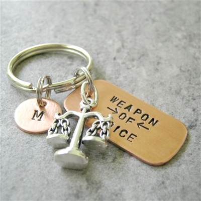 Lawyer Key Chain, Scales of Justice