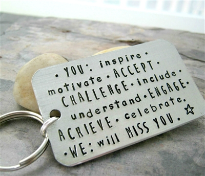 Going Away Gift Key Chain