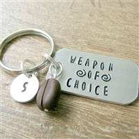 Coffee Lover's Key Chain, Weapon of Choice