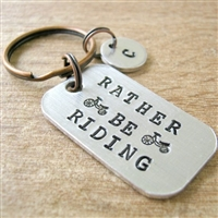 Rather Be Riding Key Chain, Biking