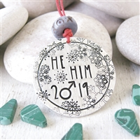 He Him Ornament, Transgender ornament, ftm ornament, Christmas 2020 LGBTQ
