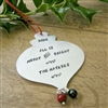 Personalized Christmas Ornament, All is Merry and Bright