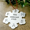 Personalized Family Snowflake Ornament