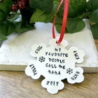 Personalized Nana Ornament, Grandma, Grandmother