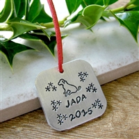 Personalized Pet Christmas Ornament