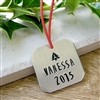 Personalized Girl's Christmas Ornament