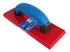 Troxell USA 4'' x 9'' Solid Red Urethane Grout Float Solid